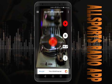 All Sports Radio App free screenshot 5
