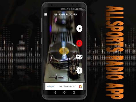 All Sports Radio App free screenshot 6