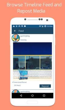 Rapid Repost: Repost Instagram screenshot 3