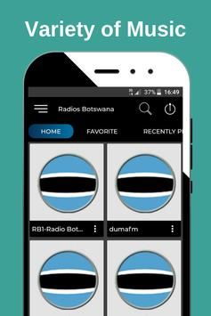 Music Botswana Radio / Stations Online Free screenshot 1