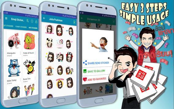 Emoji Stickers For All Messengers screenshot 10