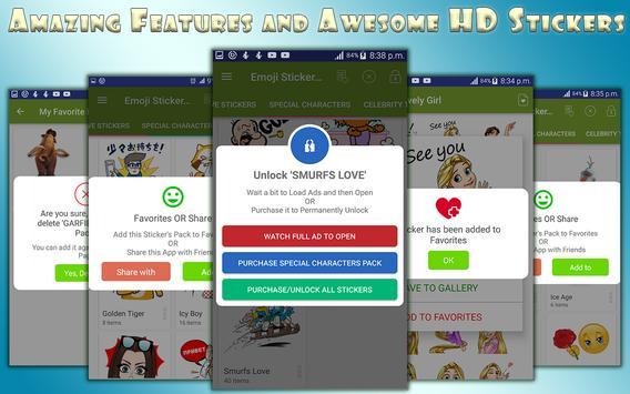 Emoji Stickers For All Messengers screenshot 5