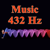 frequency 432 hz - music icon