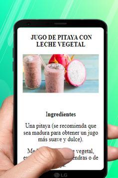 Jugos Para Bajar de Peso Rápido y Quemar Grasa Ekran Görüntüsü 19