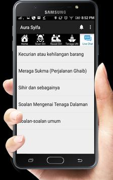 Aura Syifa - Rawatan Alternatif screenshot 5