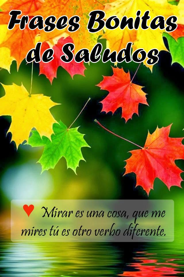 Imágenes Con Frases Bonitas De Saludos Gratis For Android