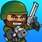 Download Game Action action android Doodle Army 2 : Mini Militia 3d