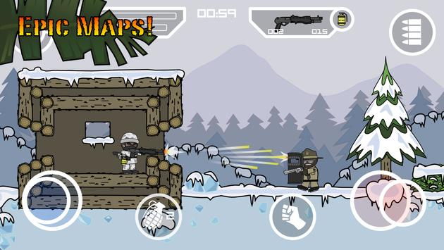 Doodle Army 2 : Mini Militia تصوير الشاشة 3