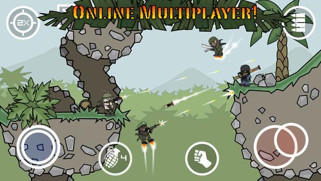 Doodle Army 2 : Mini Militia पोस्टर