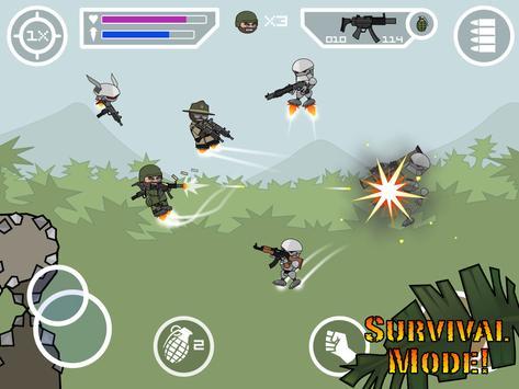 Doodle Army 2 : Mini Militia स्क्रीनशॉट 11