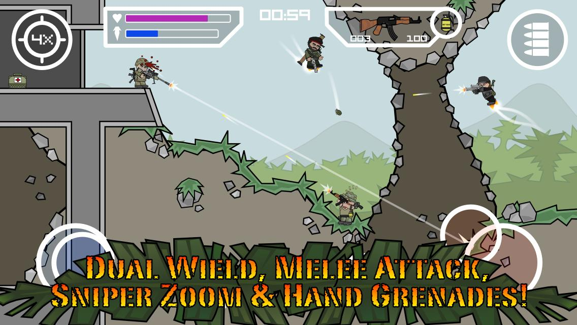 mini militia hack version apk download pro pack