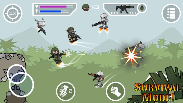 Doodle Army 2 : Mini Militia تصوير الشاشة 7