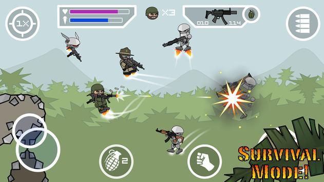 Doodle Army 2 : Mini Militia captura de pantalla 7