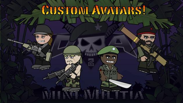 Doodle Army 2 : Mini Militia captura de pantalla 4