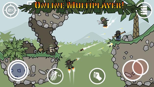 Doodle Army 2 : Mini Militia स्क्रीनशॉट 5