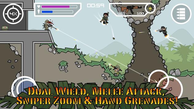 Doodle Army 2 : Mini Militia स्क्रीनशॉट 6