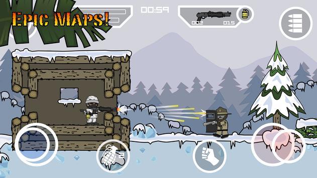 Doodle Army 2 : Mini Militia تصوير الشاشة 8