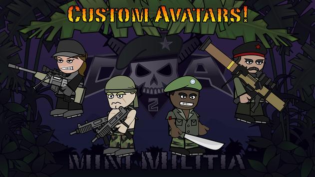 Doodle Army 2 : Mini Militia स्क्रीनशॉट 9