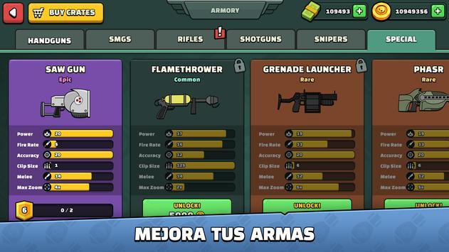 Mini Militia captura de pantalla 5