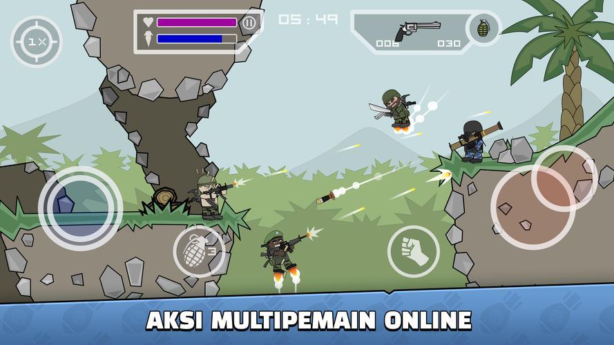 Terbaru, Mini Militia  - APK Download Game Android Terbaru