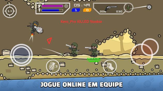 Mini Militia imagem de tela 1