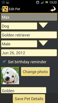 Pet Pal - Pet Health Organizer screenshot 3