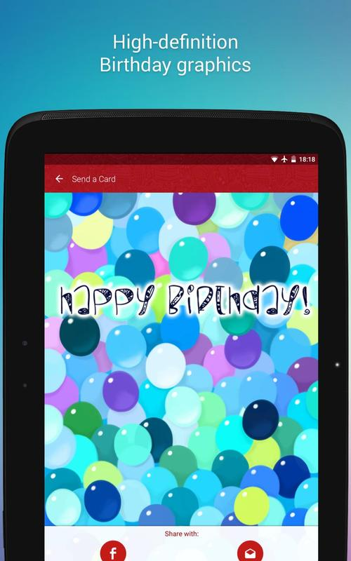 Free Birthday Cards Screenshot 5
