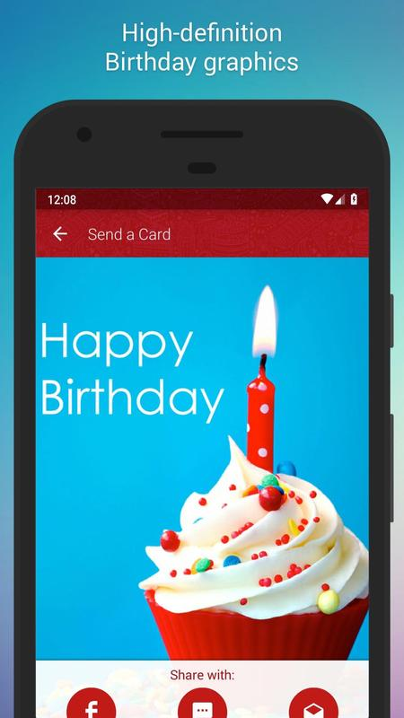 Free Birthday Cards Poster Screenshot 1
