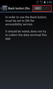 Back Button (No root) captura de pantalla 5