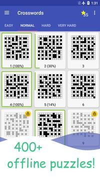 English Crossword puzzle screenshot 1