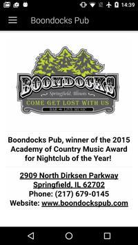 Boondocks Pub screenshot 1