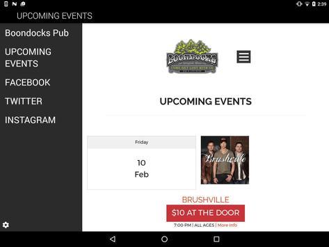 Boondocks Pub screenshot 4