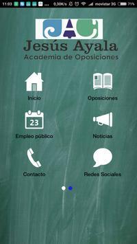 Academia Jesús Ayala poster