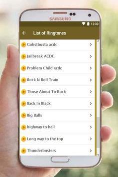 Ac dc ringtones free screenshot 2