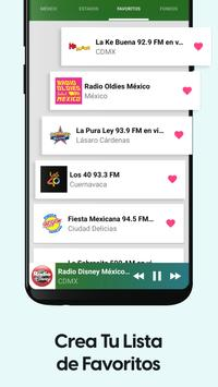 Radios de Mexico Gratis screenshot 3