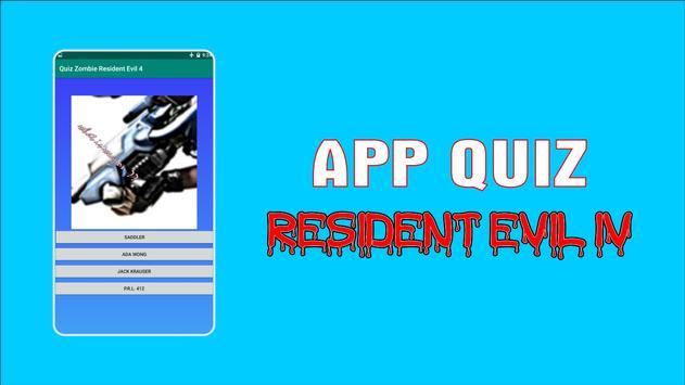 APP Quiz Game Resident Evil IV screenshot 1