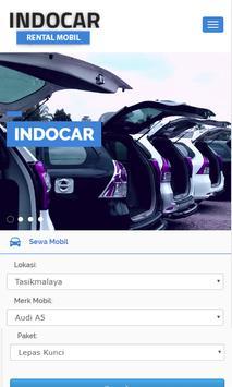 Indocar - Rental Mobil screenshot 1