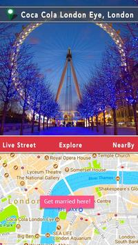 Live Street View : Live Earth Map & Gps Navigation poster
