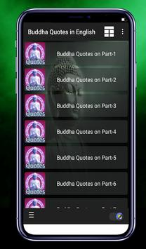 Buddha Quotes - Status in English poster