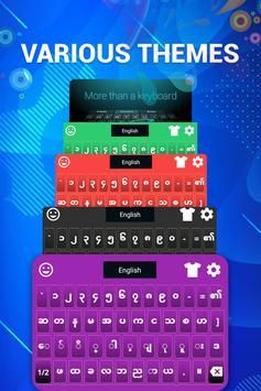 Zawgyi Myanmar Keyboard ảnh chụp màn hình 3
