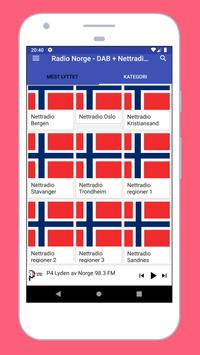 Radio Norway - DAB Radio Norway + Radio FM Norway poster