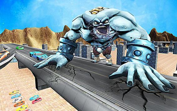Superhero Incredible Monster Hero City Battle imagem de tela 13
