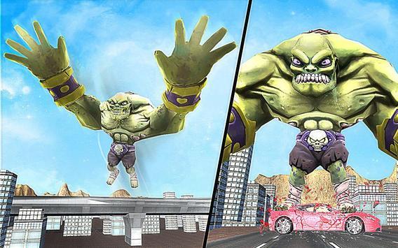 Superhero Incredible Monster Hero City Battle imagem de tela 14