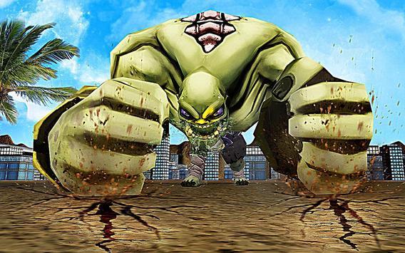 Superhero Incredible Monster Hero City Battle imagem de tela 4