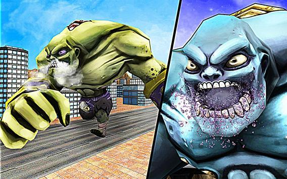 Superhero Incredible Monster Hero City Battle imagem de tela 5