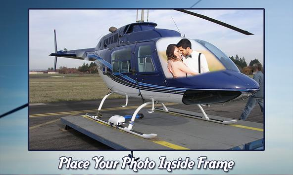 Helicopter Photo Frames screenshot 4