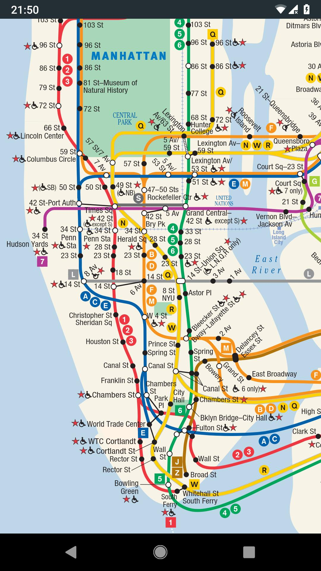 Map New York Offline.Subway Map New York Offline Dlya Android Skachat Apk