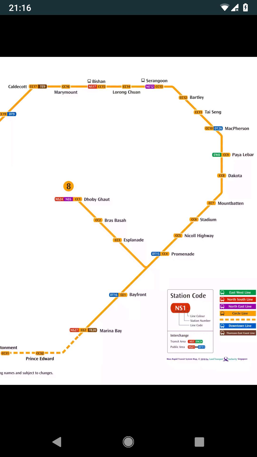 Singapore Train Map (Offline) for Android - APK Download on