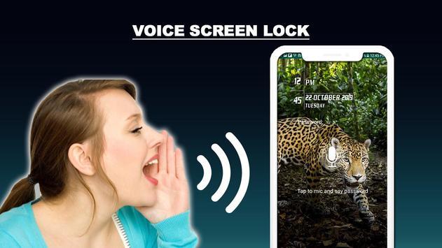 Voice lock Screen: Voice Screen Locker 2020 screenshot 9