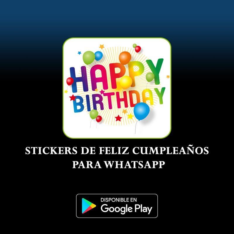 Stickers De Feliz Cumpleaños For Android Apk Download